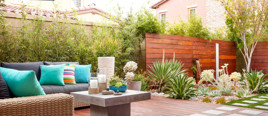 Top tips for keeping an outdoor space looking neat and tidy